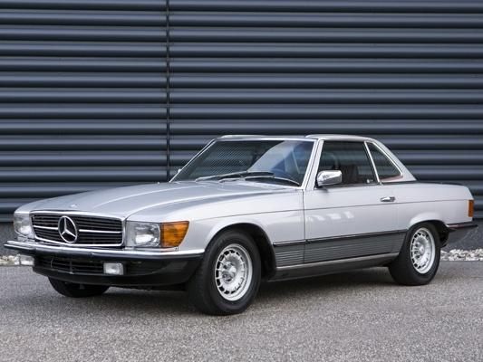 Mercedes-Benz SL-Класс купе