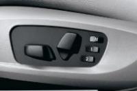 Регулировка сидений водителя и переднего пассажира