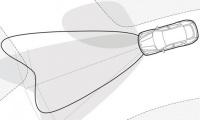 Адаптивные передние фары с фарами бокового света