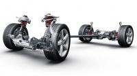 Амортизаторы с переменной, электронно-управляемой жёсткостью - Audi ride control