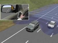 Система предупреждения при перестроении - Audi side assist