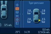 Система контроля давления воздуха в шинах (TPMS)