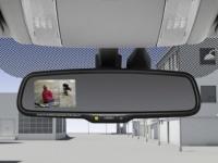 Электрохромное зеркало заднего вида со встроенным монитором