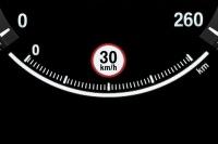 Индикация ограничения скорости