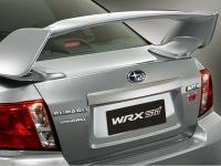 Большой задний спойлер WRX STI