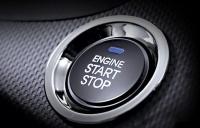 Кнопка запуска двигателя и доступ без ключа