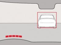 Функция предупреждения о столкновении с полным автоторможением и обнаружением пешеходов