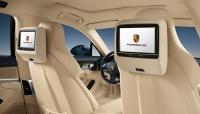 Мультимедийная система Porsche для задних пассажиров
