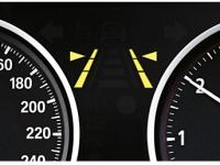 Система предупреждения о сходе с полосы движения (LDW)