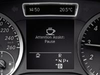 Контроль степени усталости водителя ATTENTION ASSIST