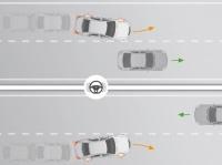 Система предупреждения водителя о съезде с полосы движения