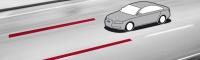 Ассистент сохранения полосы движения Audi lane assist