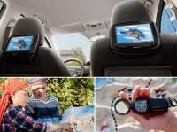 Мультимедийная система для задних пассажиров