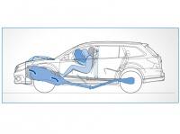 Траектория смещения двигателя
