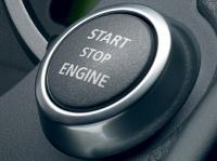 Кнопка Start/Stop для запуска и остановки двигателя