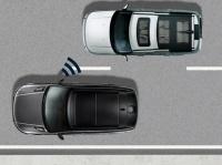 Система контроля «слепых» зон с индикатором приближающегося автомобиля