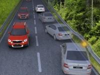 Функция автоматического торможения при аварии