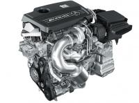 Турбированный двигатель AMG L4 объёмом 2,0 л