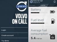 Volvo On Call и приложение для смартфона