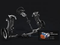Реечное рулевое управление  с электроусилителем (R-MDPS)