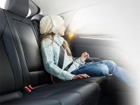 Дополнительная защита пассажиров на задних сиденьях