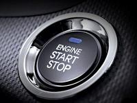 Кнопка пуска\остановки двигателя и электронный ключ