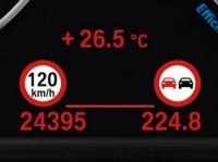 Индикатор ограничения скорости