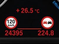 Система информирования о действующих ограничениях скорости