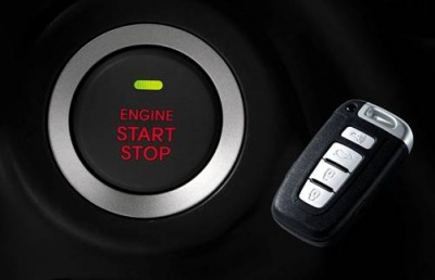 """Система интеллектуального ключа с кнопкой  """"Старт/Стоп """" сосредоточит управление автомобилем на кончиках Ваших пальцев."""