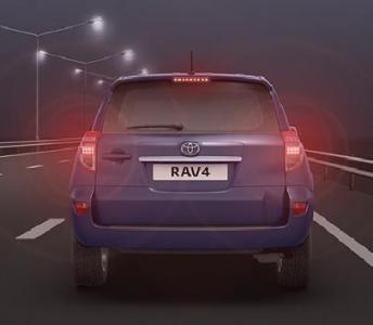 Toyota RAV4 5-дв..  Светодиодные стоп-сигналы.