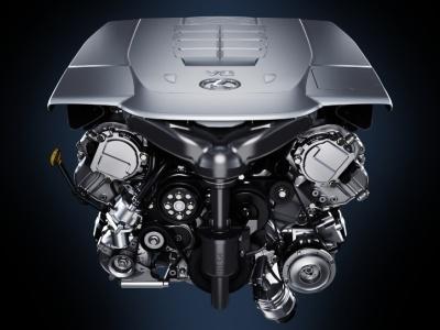 Бензиновый двигатель V8