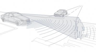 BAS PLUS с функциями поддержки при проезде через перекресток и защиты пешеходов