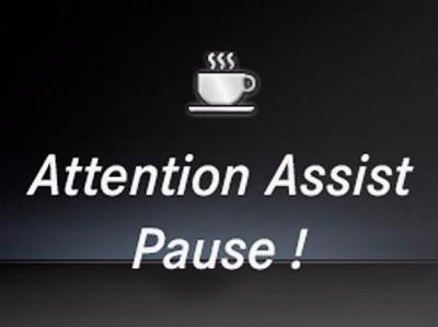 Система контроля усталости Attention Assist