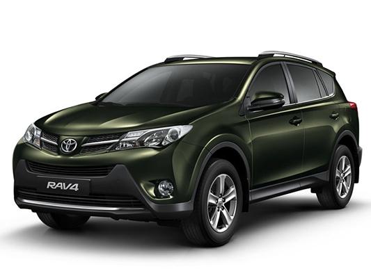 Цвета Toyota RAV4 suv - актуальная палитра Тойота РАВ 4 ...
