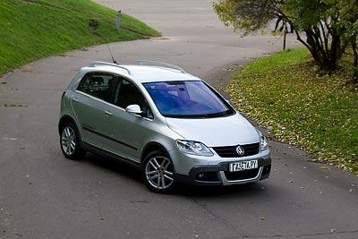 Volkswagen CrossGolf. Фото Кирилла Лебедева с сайта gazeta.ru.