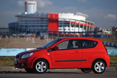 Chevrolet Aveo. Фото Кирилла Лебедева с сайта gazeta.ru.