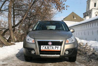 Fiat Sedici. Фото Алексея Левченко с сайта gazeta.ru