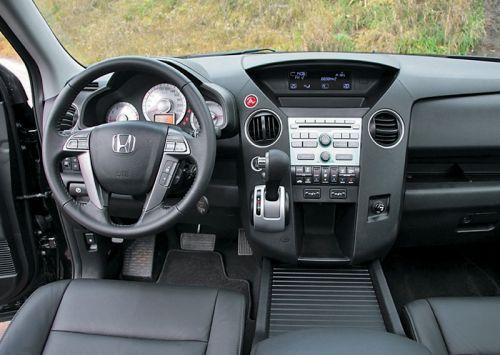 Honda Pilot. Фото Игоря Кузнецова, 5 колесо.