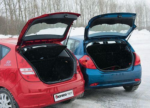 Hyundai i30 и Kia Cee`d. Фото Игоря Кузнецова, 5 колесо