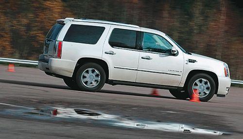 Cadillac Escalade. Фото Михаила Потапцева, 5 колесо