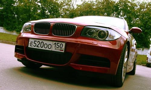 BMW 135. Фото Евгении Барановской с сайта autonews.ru.