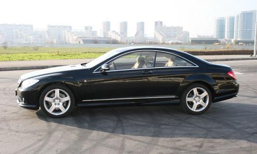 Mercedes-Benz CL class. Фото с сайта autonews.ru.