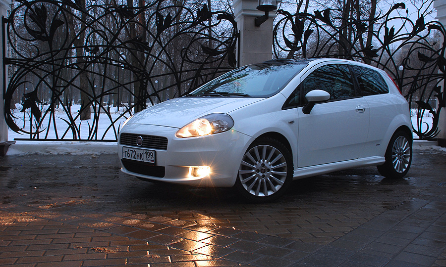 FIAT Grande Punto. Фото с сайта autonews.ru