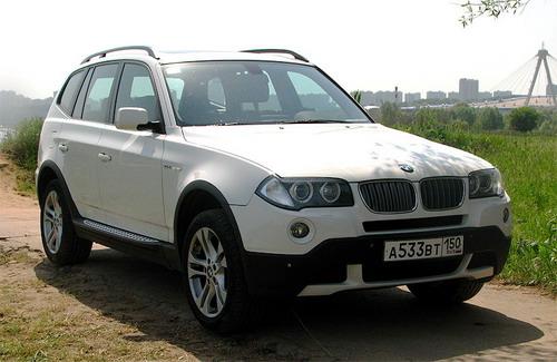 BMW X3. Фото с сайта autonews.ru.