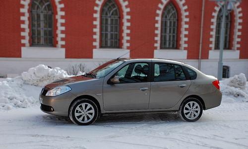 Renault Symbol. Фото с сайта autonews.ru.