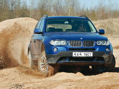 BMW X3. Фото Александра Страхова-Баранова с сайта media.club4x4.ru.