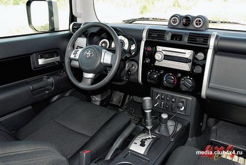 Toyota FJ Cruiser. Фото Александра Страхова-Баранова с сайта media.club4x4.ru.