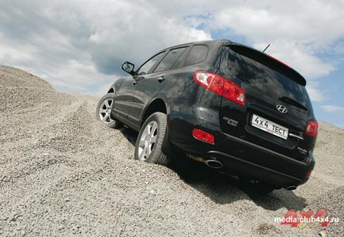 Hyundai Santa Fe. Фото Александра Страхова-Баранова с сайта media.club4x4.ru.