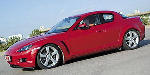 Mazda RX-8. Фото с сайта whatcar.ru.
