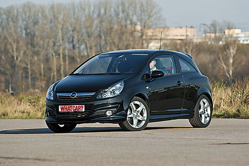 Opel Corsa GSi. Фото Сергея Гавриленко с сайта whatcar.ru